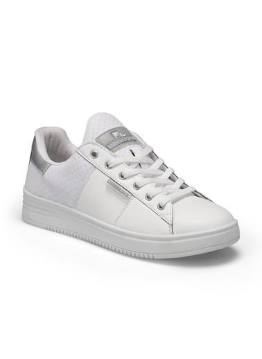 Lumberjack Kadın Beyaz Sneakers 100486479  Beyaz